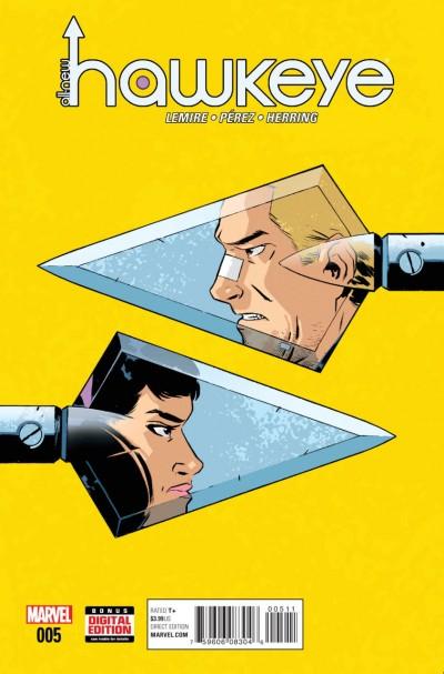 All-New Hawkeye (2015) Volume 2 #5 VF/NM Jeff Lemire Ramón Pérez