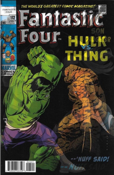 All-New Wolverine (2015) #26 VF/NM Lenticular Homage Variant Fantastic Four #112