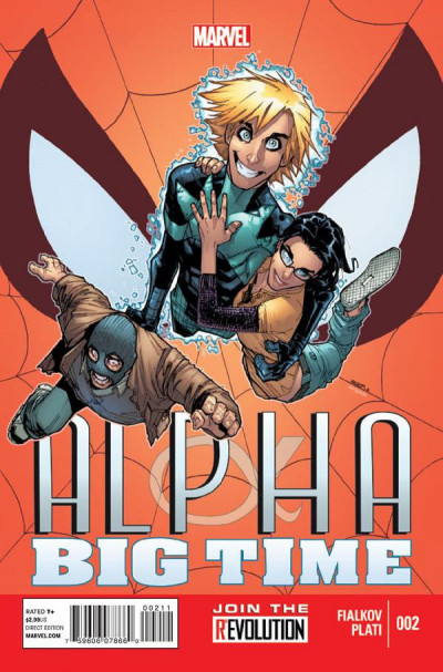 ALPHA: BIG TIME #2 NM MARVEL NOW!
