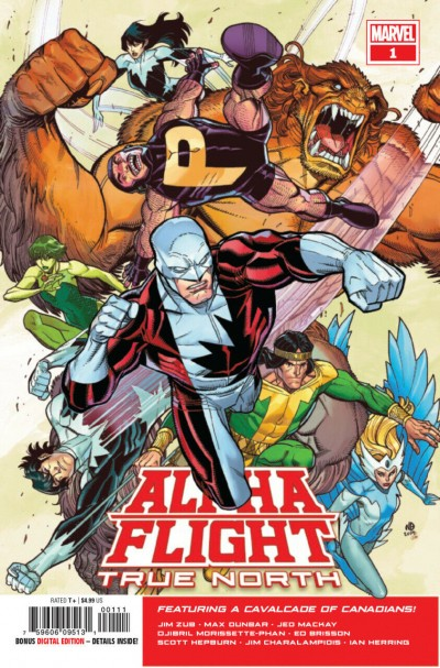 Alpha Flight: True North (2019) #1 VF/NM Nick Bradshaw Cover