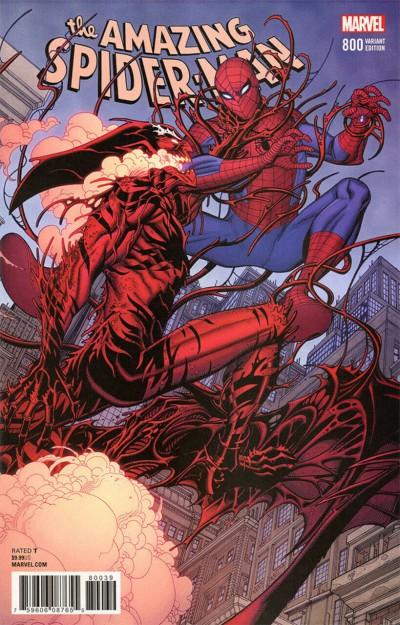 Amazing Spider-Man (2015) #800 VF/NM Bradshaw Variant cover