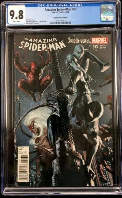 Amazing Spider-Man 13 (#746) CGC 9.8 Dell'Otto Spider-Verse variant (2016786014)