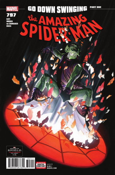 "Amazing Spider-man (2015) #797 VF/NM ""Go Down Swinging"" Alex Ross Cover"