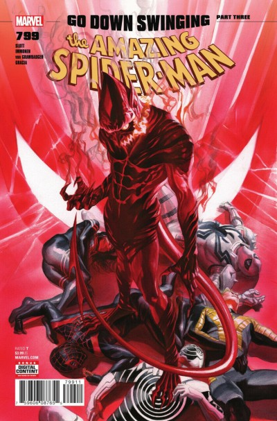 Amazing Spider-man (2015) #799 VF/NM Alex Ross Red Goblin Regular Cover