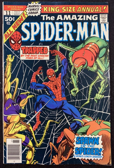 Amazing Spider-Man Annual (1977) #11 FN+ (6.5) Mary Jane app