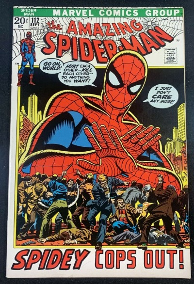 Amazing Spider-Man (1963) #112 VF+ (8.5)