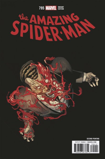 Amazing Spider-man (2015) #795 VF/NM Mike Hawthorne 2nd Second Printing Variant