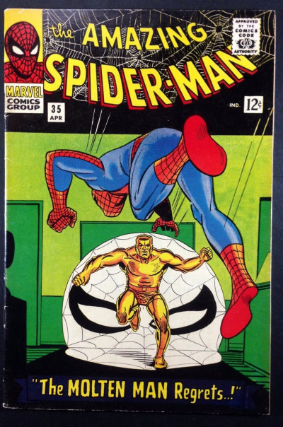 Amazing Spider-Man (1963) #35 FN+ (6.5) 2nd appearance Molten Man