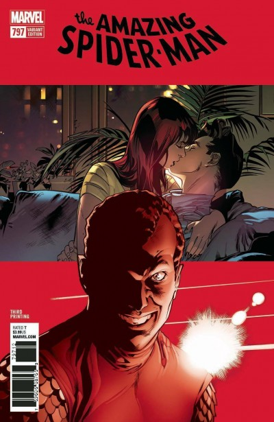 Amazing Spider-man (2015) #797 VF/NM Third 3rd Printing Variant Cover