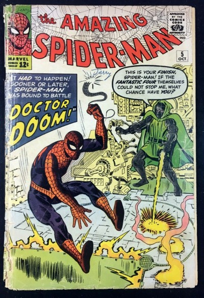 Amazing Spider-Man (1963) #5 GD- (1.8) Dr. Doom cover
