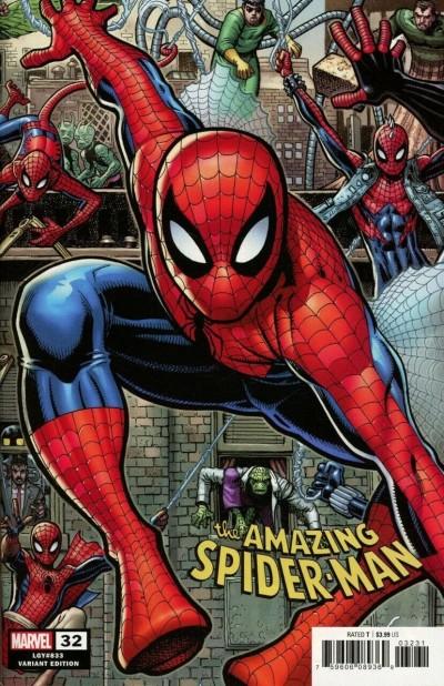 Amazing Spider-Man (2018) #32 (#833) VF/NM Arthur Adams 8-Bit Connecting Variant