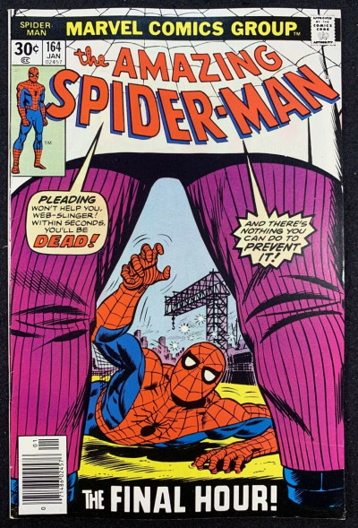Amazing Spider-Man (1963) #164 VF (8.0) vs Kingpin part 2 of 2