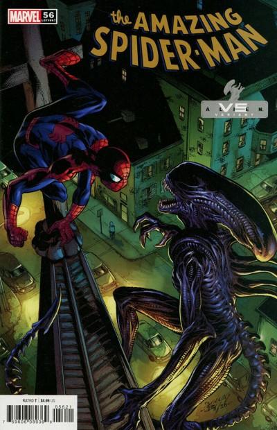 Amazing Spider-Man (2018) #56 (#857) VF/NM Marvel vs. Alien Variant Cover