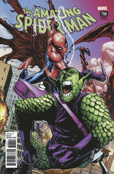 Amazing Spider-Man (2015) #798 VF/NM Connecting Humberto Ramos Variant Cover