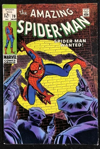 Amazing Spider-Man (1963) #70 FN+ (6.5)