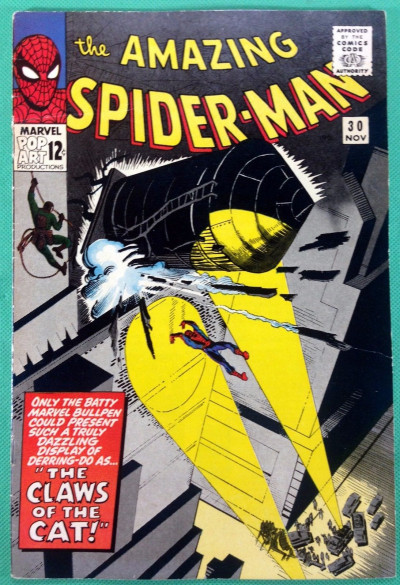 Amazing Spider-Man (1963) #30 FN (6.0) 1st app Black Cat the burglar