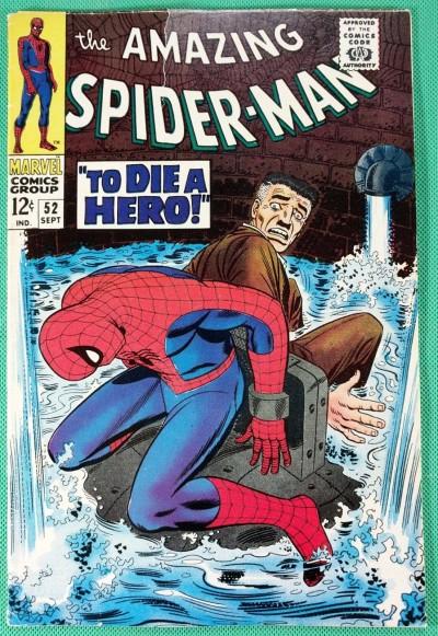 Amazing Spider-Man (1963) #52 VG/FN (5.0) 1st app Joe Roberton