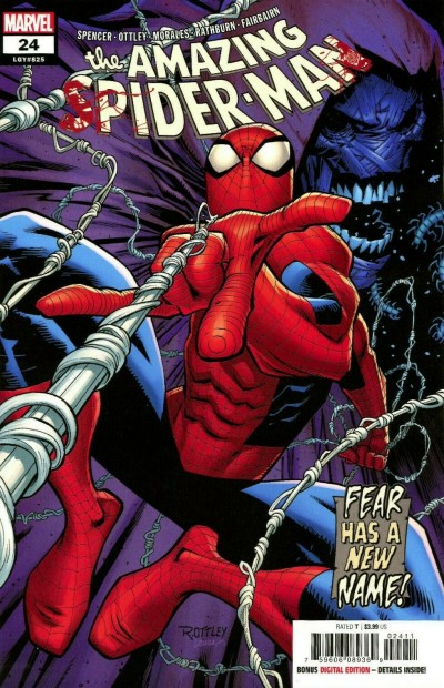 Amazing Spider-Man (2018) #24 (#825) VF/NM Secret Carnage Lot Variant Cover