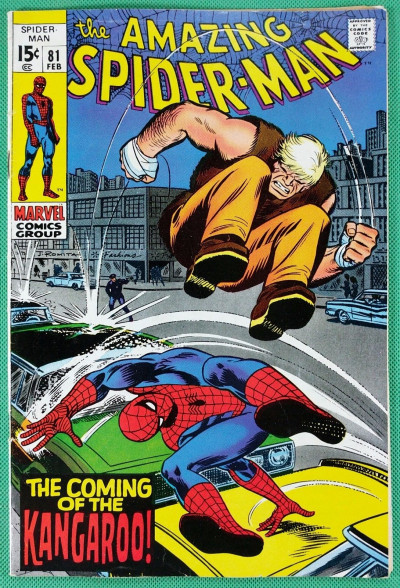 Amazing Spider-Man (1963) #81 FN+ (6.5) 1st app Kangaroo