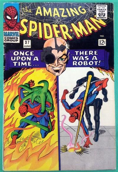 Amazing Spider-Man (1963) #37 VG/FN (5.0) 1st app Norman Osborn