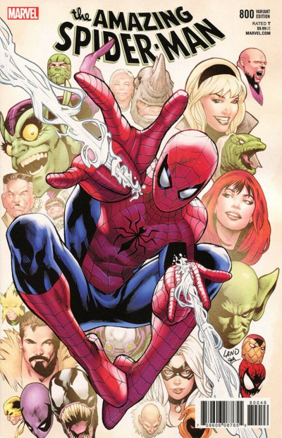 Amazing Spider-Man (2015) #800 VF/NM Greg Land Variant cover