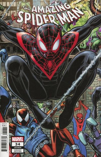 Amazing Spider-Man (2018) #34 (#835) VF/NM Arthur Adams 8-Bit Connecting Variant