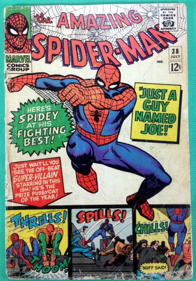 Amazing Spider-Man (1963) #38 FR/GD (1.5) 2nd mention of Mary Jane last Ditko