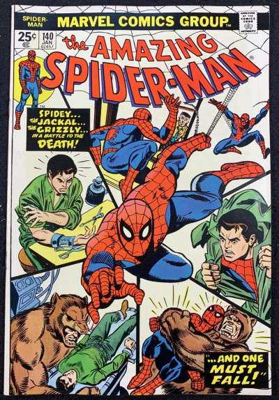 Amazing Spider-Man (1963) #140 Apparent (8.5) 1st app Glory Grant missing stamp