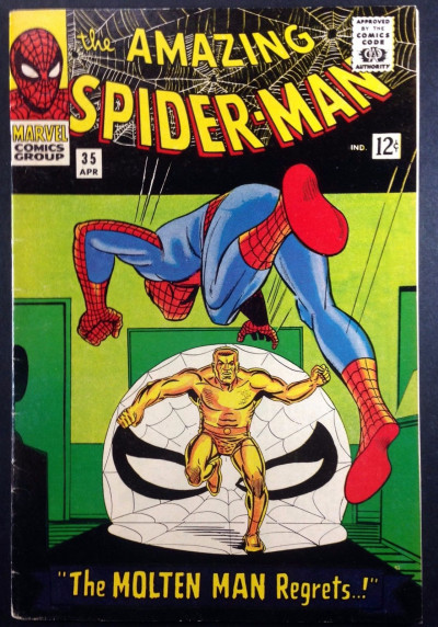 Amazing Spider-Man (1963) #35 FN (6.0) 2nd app Molten Man