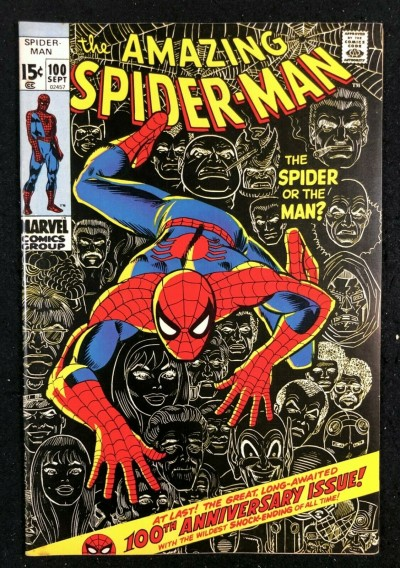 Amazing Spider-Man (1963) #100 VF (8.0)