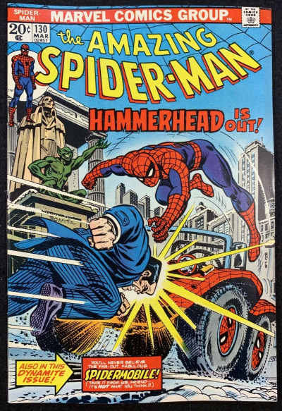 Amazing Spider-Man (1963) #130 VF+ (8.5) Hammerhead cover Mark Jeweler variant