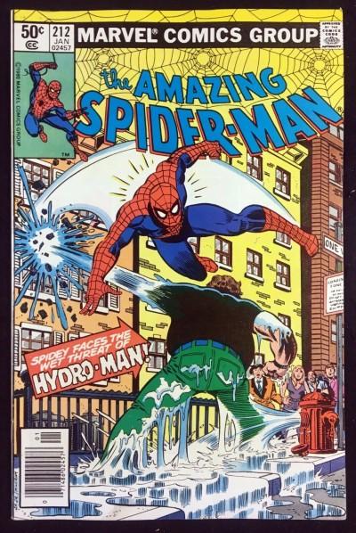 Amazing Spider-Man (1963) #212 VF- (7.5) 1st app Hydro-Man