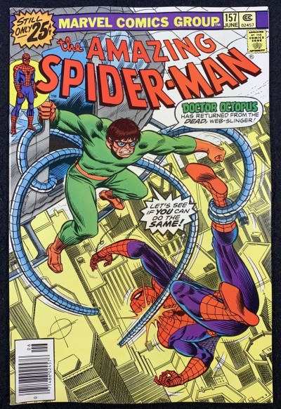 Amazing Spider-Man (1963) #157 VF/NM (9.0) vs Doctor Octopus