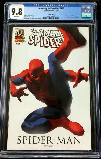 Amazing Spider-Man (1963) #608 CGC 9.8 variant cover (2016786008)