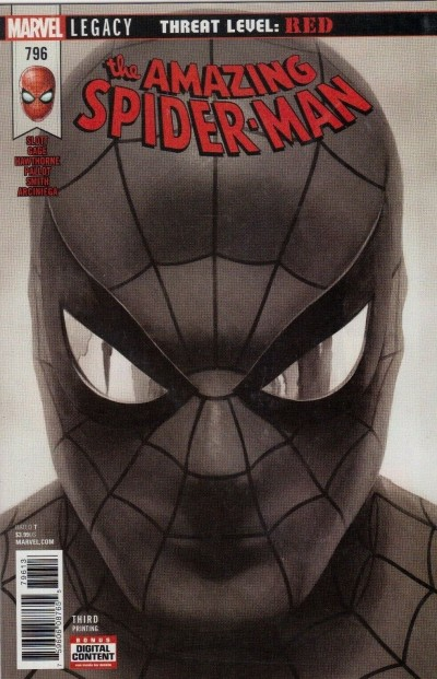 Amazing Spider-man (2015) #796 VF/NM Alex Ross 3rd Third Printing Variant