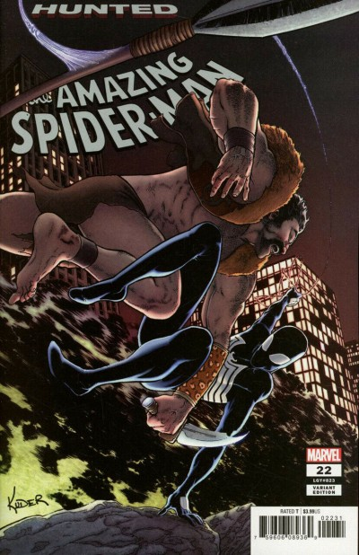 """Amazing Spider-Man (2018) #22 (#823) VF/NM """"Hunted"""" Aaron Kuder Variant Cover"""