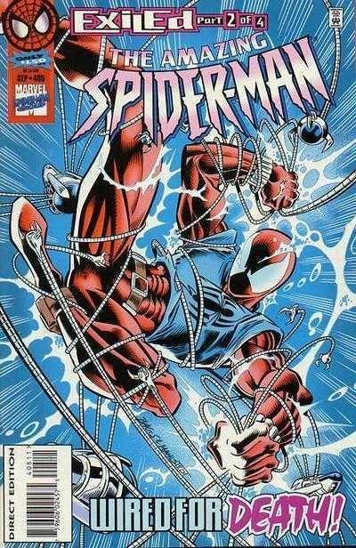 Amazing Spider-Man (1963) #405 VF/NM (9.0) Exiled pt.2 Scarlet Spider Clone Saga