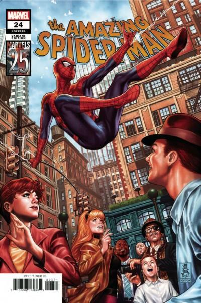 Amazing Spider-Man (2018) #24 (#825) VF/NM Marvels 25th Anniversary Variant