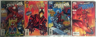 Amazing Spider-Man (1963) #403 410 430 431 4 issue lot all Carnage issues
