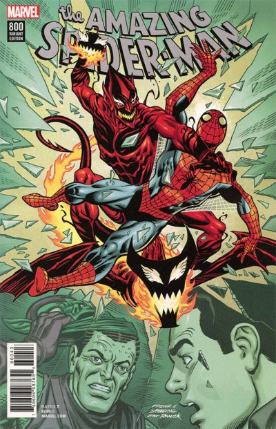 Amazing Spider-Man (2015) #800 VF/NM Ron Frenz Variant cover
