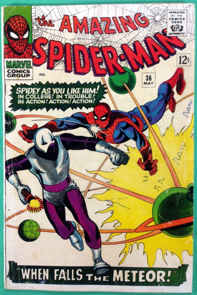 Amazing Spider-Man (1963) #36 GD (2.0) 1st app Looter