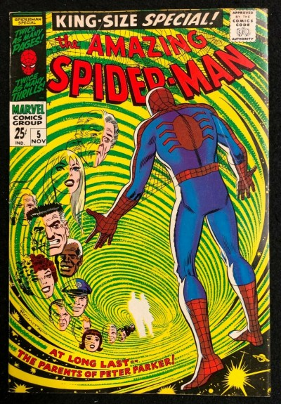 Amazing Spider-Man Annual (1964) #5 FN/VF (7.0) John Romita