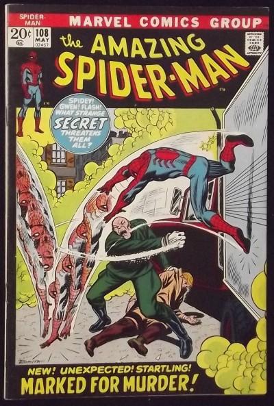 AMAZING SPIDER-MAN #108 FN/VF