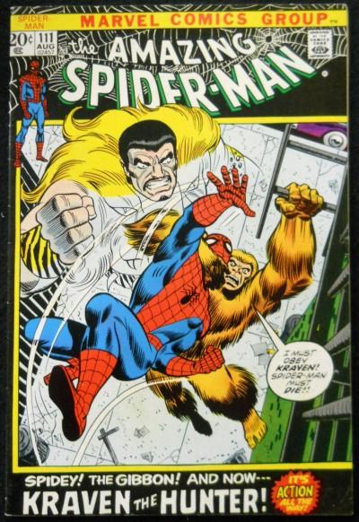 AMAZING SPIDER-MAN #111 FN/VF KRAVEN