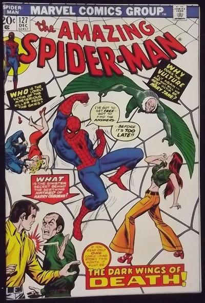 AMAZING SPIDER-MAN #127 VF-