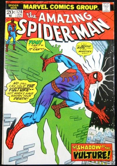 AMAZING SPIDER-MAN #128 VF VULTURE