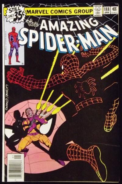 AMAZING SPIDER-MAN #188 FN+ VS JIGSAW