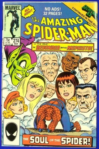 AMAZING SPIDER-MAN #274 NM+