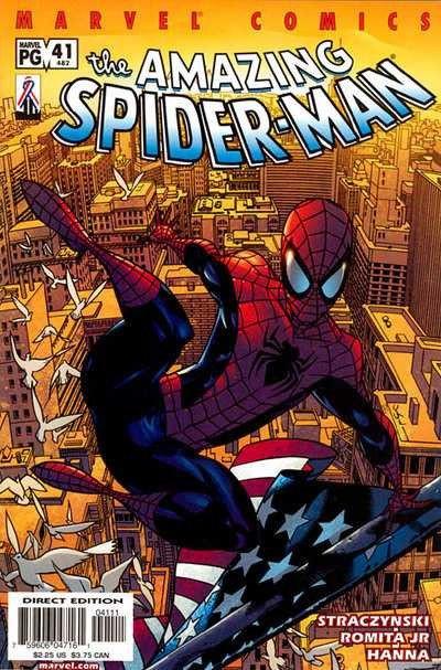AMAZING SPIDER-MAN #482 VF/NM STRACZYNSKI ROMITA JR