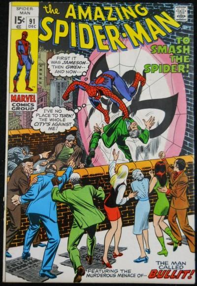 AMAZING SPIDER-MAN #91 VF